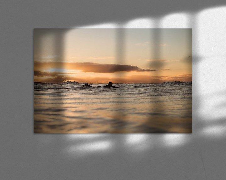 Impression: Sunset surf Domburg 3 sur Andy Troy