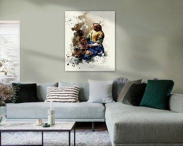 Das Milchmädchen - Vermeer von zippora wiese