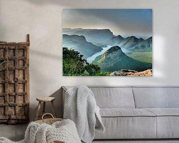 Prachtige bergen in Zuid-Afrika van HGU Foto
