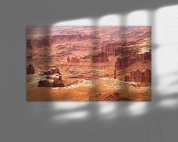 Uitzicht in Canyonlands National Park von Dirk Jan Kralt