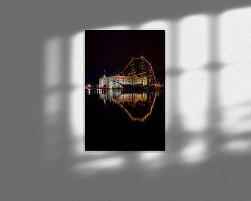 Schifffahrtsmuseum Amsterdam Abendfoto. von Gerard Koster Joenje (Vlieland, Amsterdam & Lelystad in beeld)