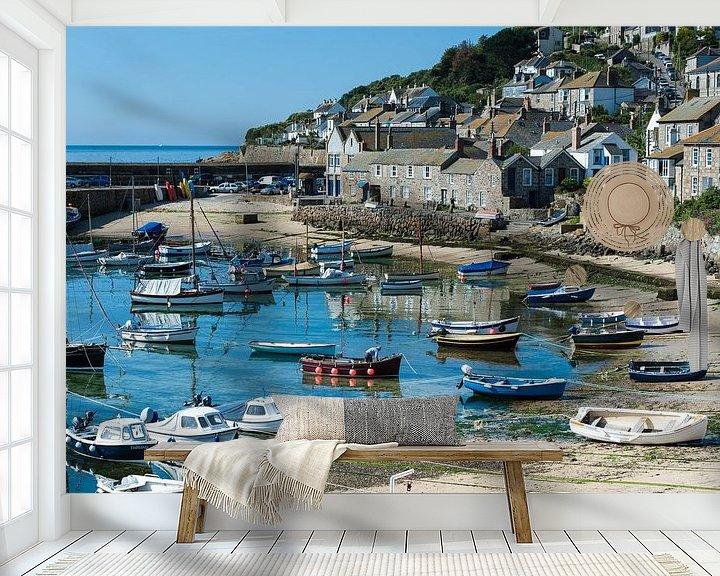 Sfeerimpressie behang: Cornwall, Mousehol van Johanna Blankenstein