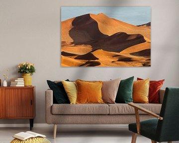 Sossusvlei rote Sanddünen von Henk Bogaard