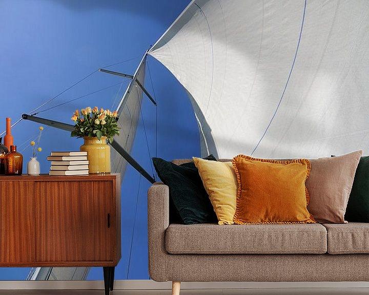 Sfeerimpressie behang: Met de wind in de zeilen van Wiljo van Essen