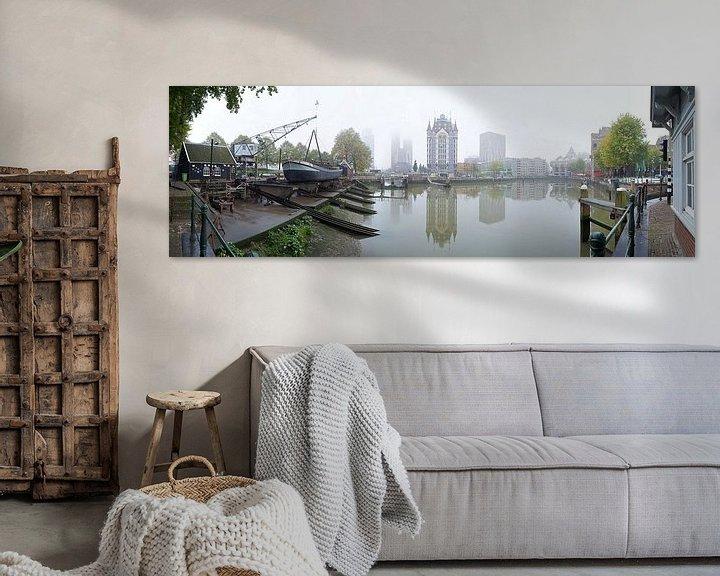 Sfeerimpressie: Oude haven Rotterdam van Huub Keulers