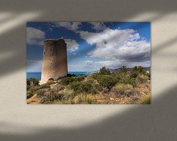 Torre de Maro in het natuurpark Acantilados de Maro Cerro Gordo van René Weijers