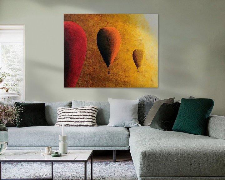 Beispiel: Rot, orange und gelb von Russell Hinckley