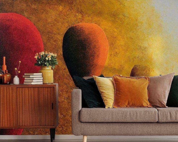 Beispiel fototapete: Rot, orange und gelb von Russell Hinckley