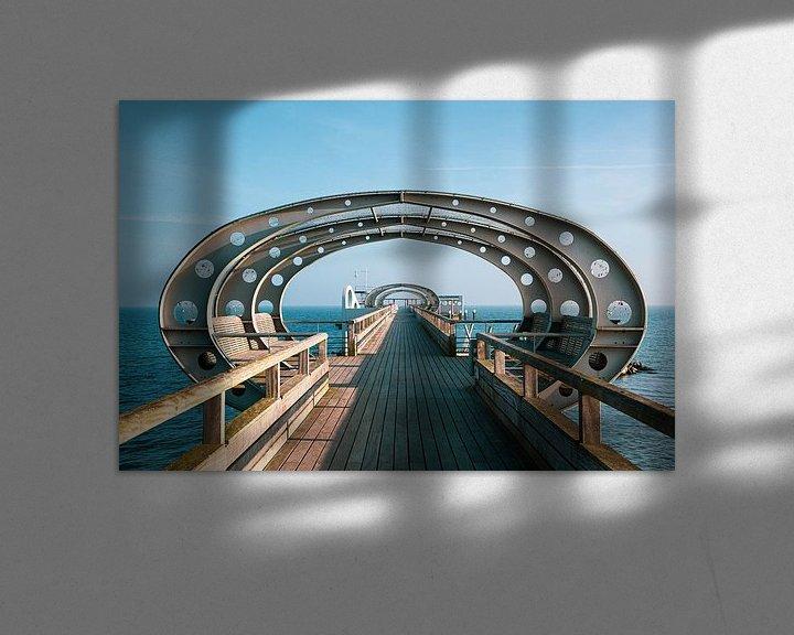 Beispiel: Seebrücke Kellenhusen von Werner Reins