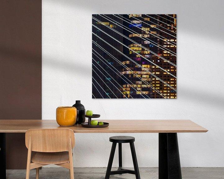 Sfeerimpressie: Lichten en kabels van Jeroen Kleiberg