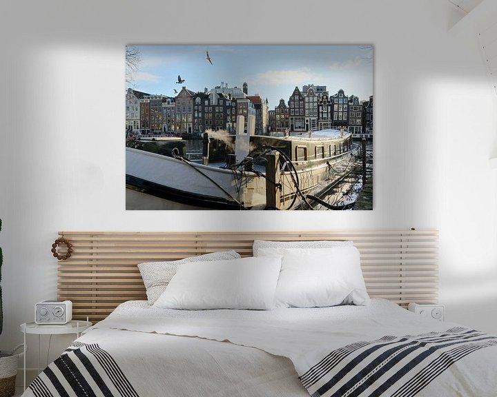 Beispiel: Amsterdam ist aus der Nacht aufgewacht. von Rogier Meurs Photography