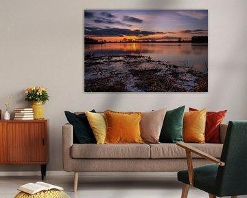 Splendid Sunset van Rik Zwier