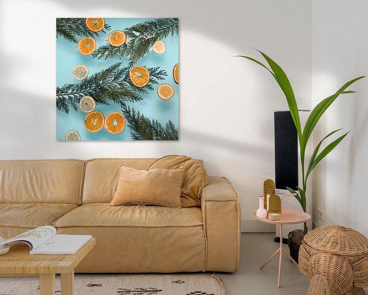 Sfeerimpressie: Valencia vibes - Sinaasappels // baby blauw van Nikki Segers