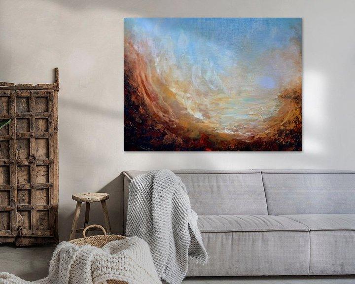 Beispiel: Sonnenuntergang Tal von Christian Carrette