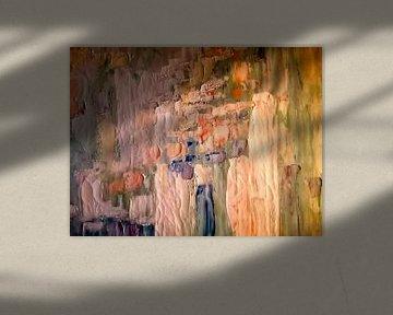 Abstrakt in Öl von Maurice Dawson