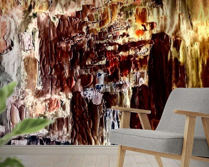 Beispiel fototapete: Abstrakt in Öl von Maurice Dawson