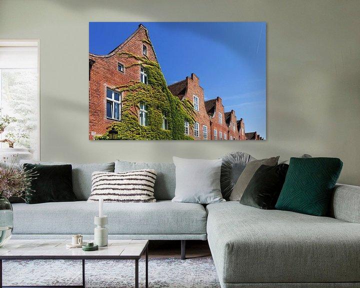 Impression: Façades historiques dans le quartier néerlandais de Potsdam sur Frank Herrmann