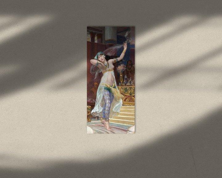 Beispiel: Rodolfo Amoedo, Jüdischer Tanz - 1913 von Atelier Liesjes