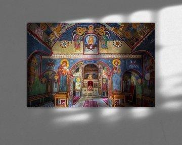 Fresco's in een klooster van Antwan Janssen