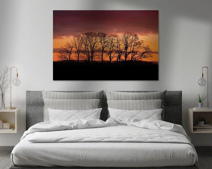 Beispiel: Sonnenuntergang im Dezember von Klaus Feurich Photography