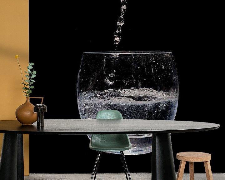 Beispiel fototapete: Wasserglas von Klaus Feurich Photography