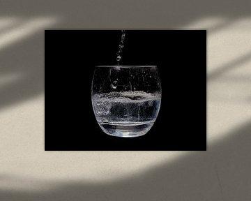 Wasserglas von Klaus Feurich Photography