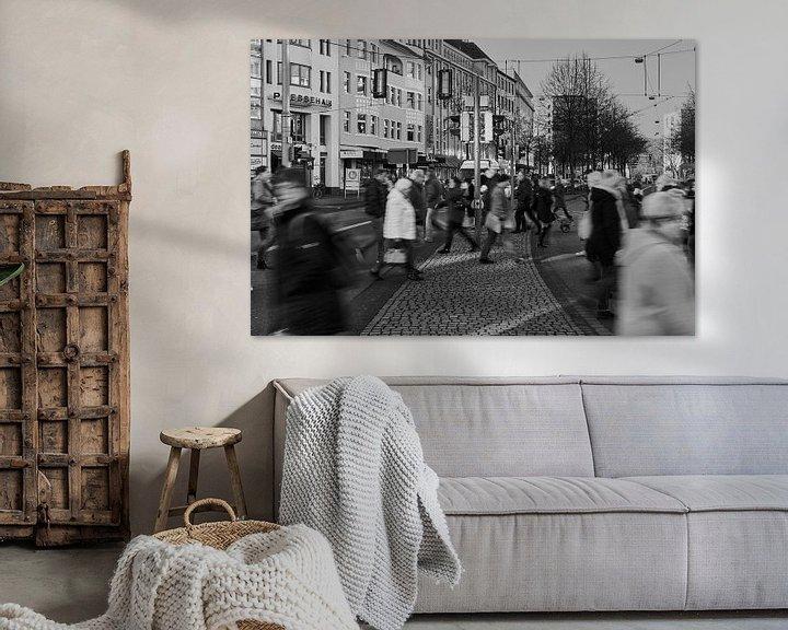 Beispiel: Menschen in Bewegung von Klaus Feurich Photography