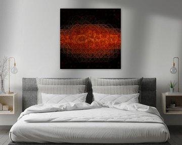 Bunt abstrakt von Carla van Zomeren