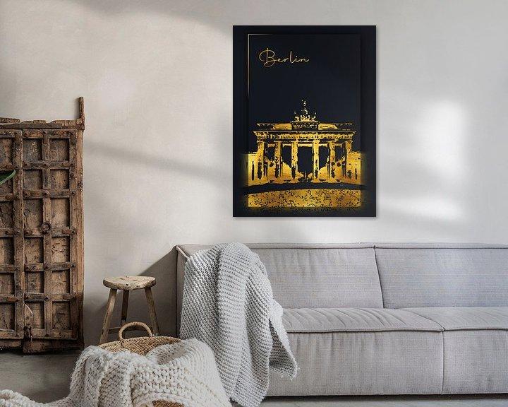 Beispiel: Berlin von Printed Artings