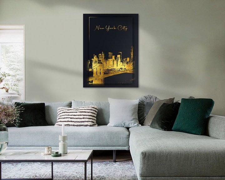 Beispiel: New York City von Printed Artings