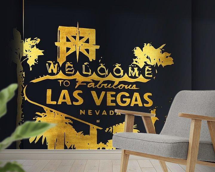 Beispiel fototapete: Las Vegas von Printed Artings