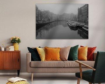 Amsterdam in Schwarz und Weiß von Ronald van Kooten