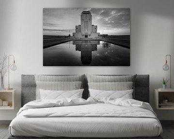 Radio Kootwijk in schwarz-weiß von Henk Meijer Photography