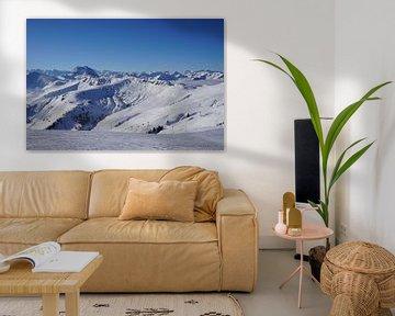 Skigebiet Kitzbühel, Blick nach Westen (Tirol, Österreich) von Kelly Alblas