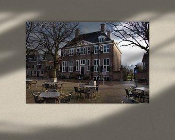 Hôtel de ville le Prinsenhuis à Hellevoetsluis sur Anita van Gijn
