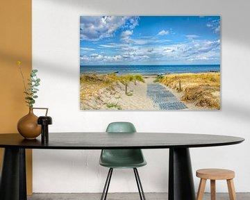 Strandaufgang von Holger Felix