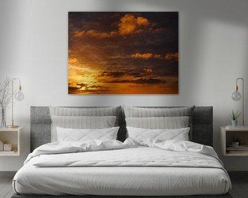 Koperen zonsopgang van Simone Gouman