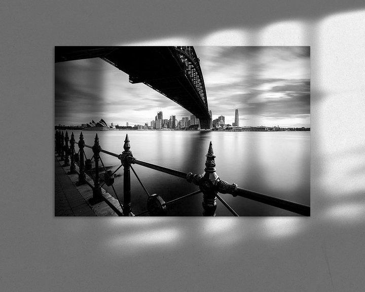 Beispiel: SYDNEY Harbour Bridge und der Oper von Jiri Viehmann