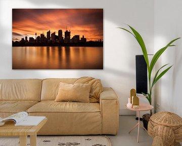 Sydney Skyline CBD von Jiri Viehmann
