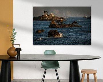 Battery Point Lighthouse, Crescent City van Stefan Verheij