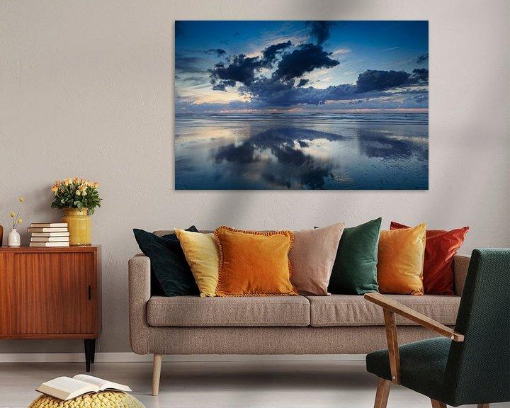 Sfeerimpressie: wolken aan de Noordzee van gaps photography