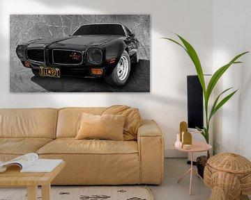 Pontiac Firebird 350 in originele kleur van aRi F. Huber
