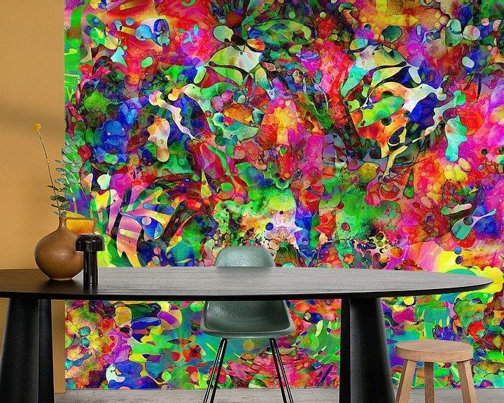 Sfeerimpressie behang: UC Psychedelic I van Arno Rollenberg