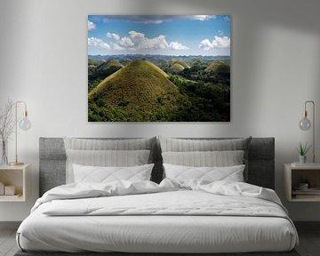 Filipijnen - Bohol - Groene Chocolate Hills