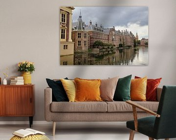 Het Binnenhof in Den Haag van Jan Kranendonk