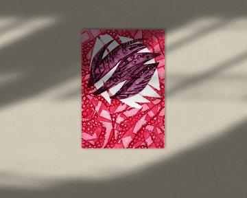 Das Wachstum einer Tulpe von Godelieve Kunst