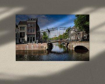 Zugbrücke in Schiedam von Jan Kranendonk