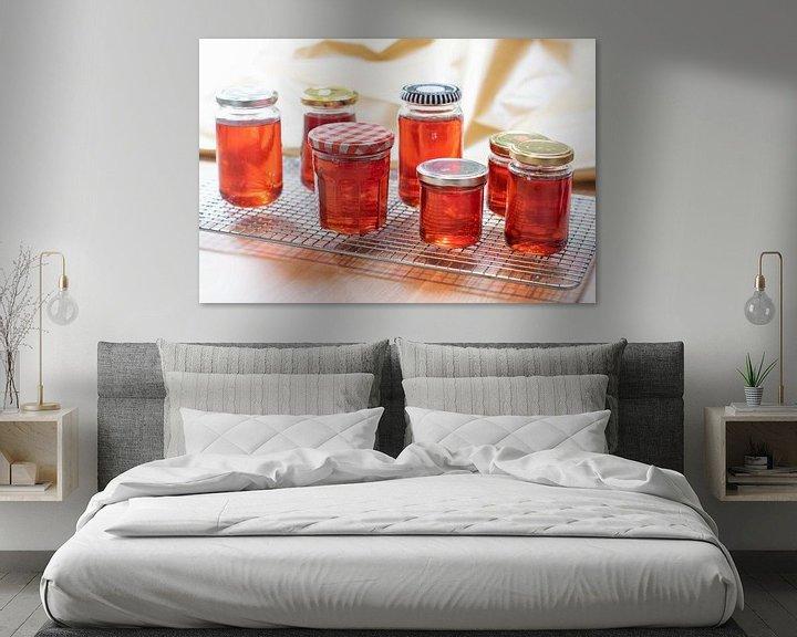 Impression: Belle gelée de coing rouge sur Annemieke Glutenvrij