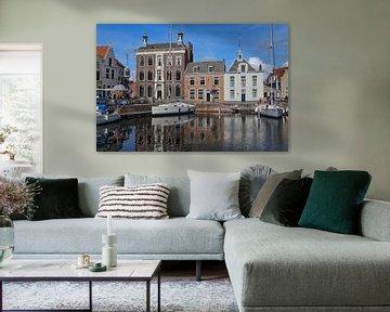 Alter Hafen von Goes von Jan Kranendonk