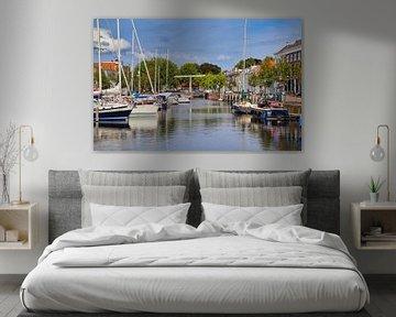 Oude haven van Goes van Jan Kranendonk